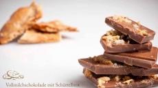 Vollmilchschokolade mit Schüttelbrot 100 g   Oberhöller Gourmet-Schokoladen