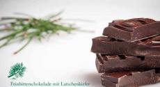 Feinbitterschokolade 61% mit Latschenkiefer 100 g | Oberhöller Gourmet-Schokoladen